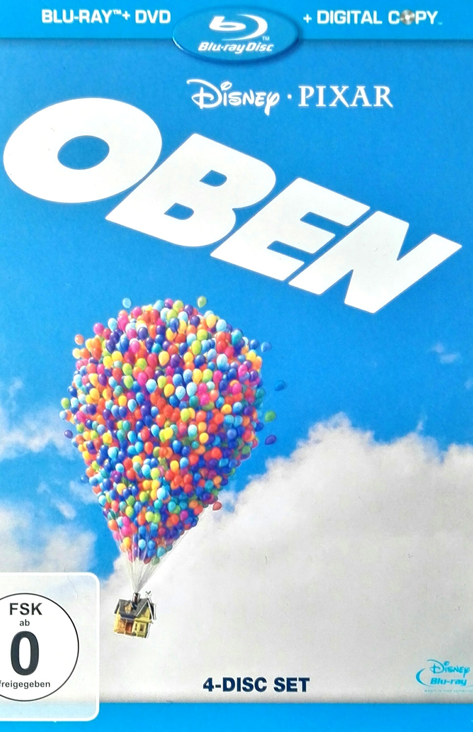 Film Oben 4-Disc-Set