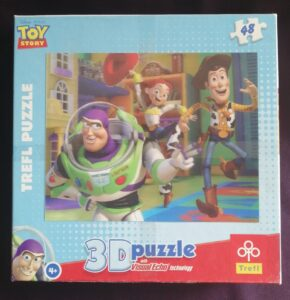 3D Puzzle Toy Story